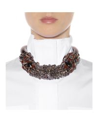 Marni | Multicolor Crystal-embellished Necklace | Lyst