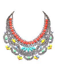 Tom Binns | Multicolor Soft Power Bib Necklace | Lyst
