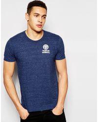Franklin & Marshall - Blue Crew Neck T-shirt for Men - Lyst