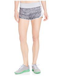 Nike | Gray Crew Dri-fit Print Shorts | Lyst