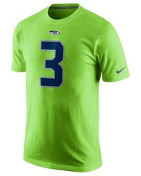 Lyst - Nike Men s Russell Wilson Seattle Seahawks Pride Player T ... 0c7506088