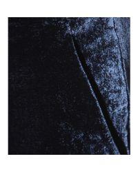 Emilio Pucci - Blue Flared Velvet Pants - Lyst