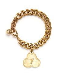 Lulu Frost | Metallic Victorian Plaza Bracelet #7 | Lyst