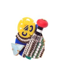 Erickson Beamon - Multicolor Memphis Ring - Lyst