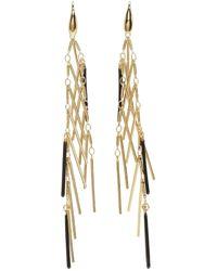 Isabel Marant | Metallic Gold Good Swung Fringe Earrings | Lyst