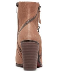 Vince Camuto | Brown Hinnegan Booties | Lyst
