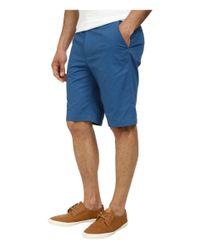 Calvin Klein | Blue Chino Walking Shorts for Men | Lyst