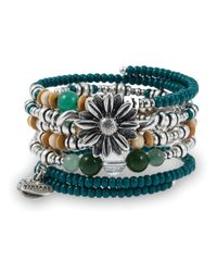 ALEX AND ANI | Multicolor Vintage 66 Natural Wonders Bangles Set Of 5 Prosperity | Lyst