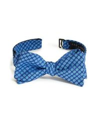 Ted Baker | Blue Floral Silk Bow Tie for Men | Lyst