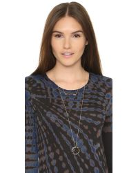 House of Harlow 1960 - Metallic Spectrum Pendant Necklace - Lyst