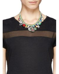 Venessa Arizaga - Green 'travel Bag' Necklace - Lyst