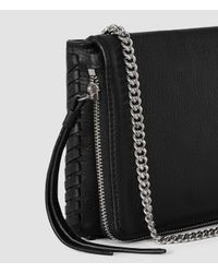 AllSaints - Black Club Mini Crossbody Usa Usa - Lyst