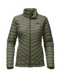 The North Face - Green Thermoball Insulated Jacket - Lyst