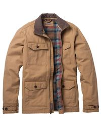 Toad&Co - Brown Carver Canvas Coat for Men - Lyst