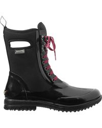 Bogs - Black Sidney Lace Solid Boot - Lyst