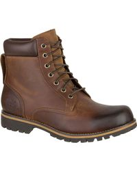 Timberland - Brown Earthkeepers Rugged Waterproof 6in Plain Toe Boot for Men - Lyst