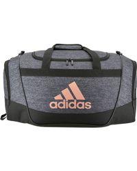 b4356b1fd071 Lyst - adidas Originals Defender Ii Medium 61l Duffel Bag in Black ...