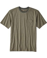 Patagonia - Green Squeaky Clean Pocket T-shirt for Men - Lyst