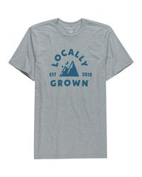 Locally Grown - Blue Mountain Sky T-shirt for Men - Lyst
