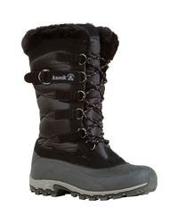 Kamik - Black Snowvalley Winter Boot - Lyst