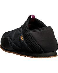 Teva Black Ember Moc Shoe
