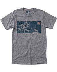 Hippy Tree - Gray Desert T-shirt for Men - Lyst