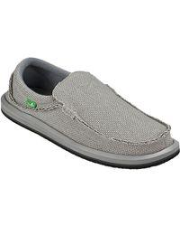 Sanuk - Gray Chiba Shoe for Men - Lyst