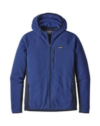 Patagonia - Blue Performance Better Sweater Hooded Fleece Jacket for Men - Lyst