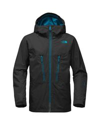 The North Face - Black Thermoball Snow Triclimate Hooded Jacket for Men - Lyst