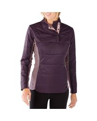 Smartwool - Purple Double Propulsion 60 Insulated Pullover Jacket - Lyst