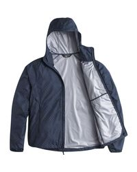The North Face - Blue Flyweight Hooded Jacket for Men - Lyst