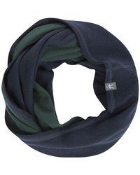 7ec63fe519 Ibex Dyad Infinity Scarf in Blue - Lyst