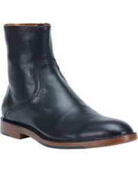 Frye - Black Mark Inside Zip Boot for Men - Lyst