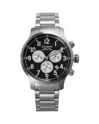 Filson | Multicolor Mackinaw Field Chrono Stainless Steel Watch for Men | Lyst