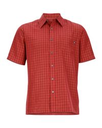 Marmot - Red Eldridge Shirt for Men - Lyst