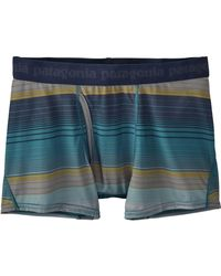 Patagonia - Blue Capilene Daily Boxer Brief for Men - Lyst