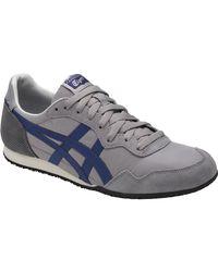 Asics - Blue Onitsuka Tiger Serrano Shoe for Men - Lyst
