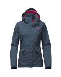 The North Face - Blue Boundary Triclimate Hooded Jacket for Men - Lyst
