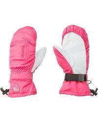 Hestra - Pink Czone Powder Mitten - Lyst