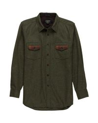 Pendleton - Green Contrast Shirt for Men - Lyst