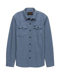 Howler Brothers Blue Stockman Chamois for men