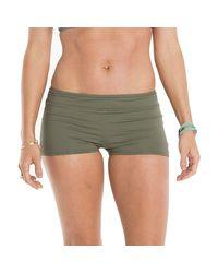 Carve Designs - Green Isla Boy Short Bikini Bottom - Lyst