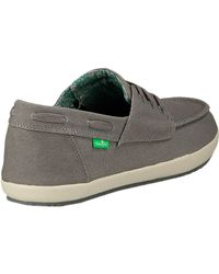 Sanuk - Gray Casa Barco Shoe for Men - Lyst