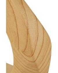 Kenneth Jay Lane - Brown Wooden Bracelet - Lyst