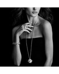 David Yurman - Metallic Crossover Narrow Cuff Bracelet - Lyst