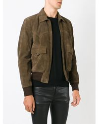 Saint Laurent - Brown Western Style Jacket for Men - Lyst