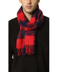 "Begg & Co - Blue Buffalo Soldier 12"" X 67"" Scarf for Men - Lyst"