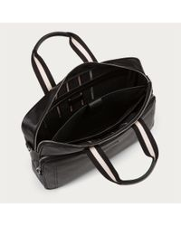 Bally - Thoron Men ́s Leather Business Bag In Black for Men - Lyst