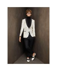 Bally - Evening Trousers In Black Wool/mohair for Men - Lyst