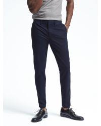 Banana Republic | Blue Fulton Stretch Skinny Chino for Men | Lyst